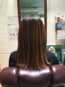 生駒市 美容室 髪質改善